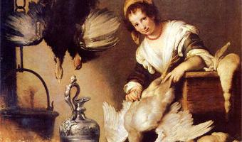 Cuisinières en face-à-face. Art figuratif et gastronomie : peintures flamande et italienne