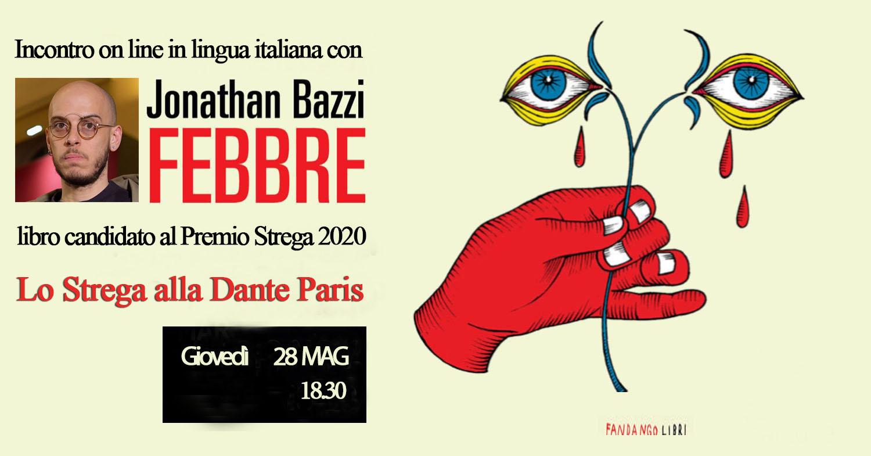 Lo Strega alla Dante Paris. Incontro con Jonathan Bazzi