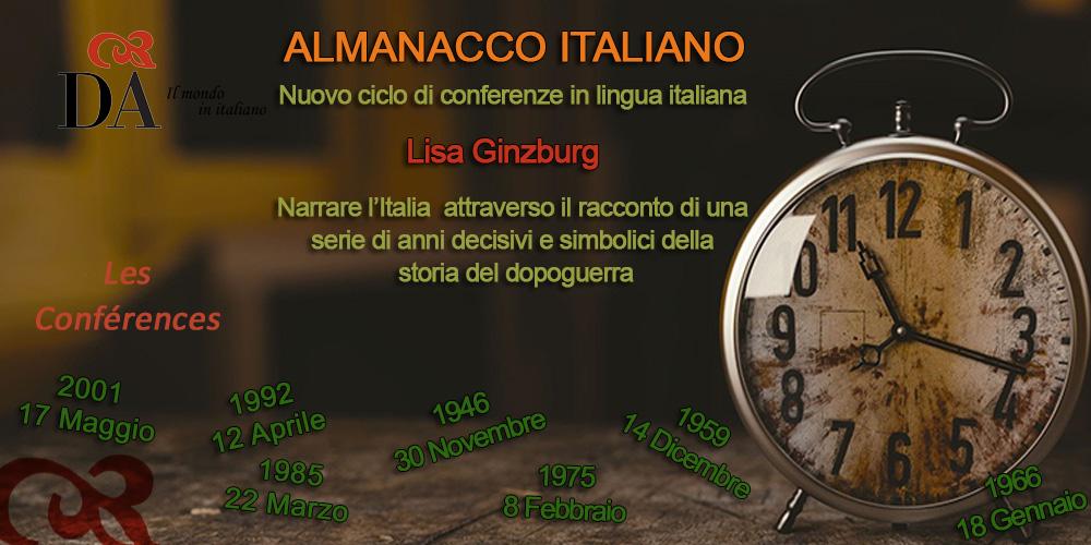ALMANACCO ITALIANO @ Dante Alighieri - Comité de Paris