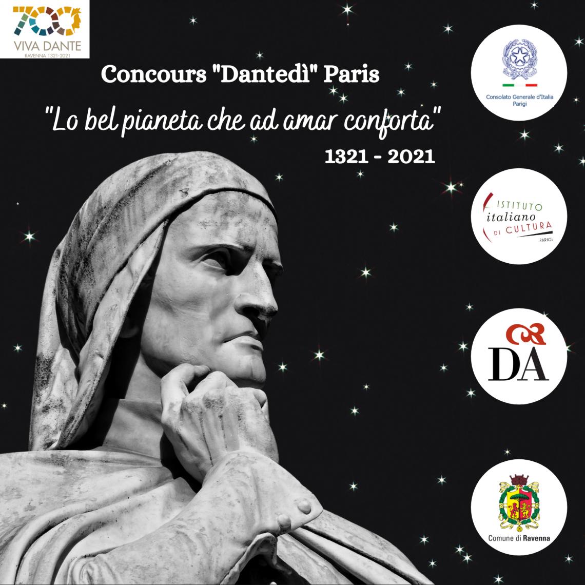 """CONCOURS """"DANTEDì"""" PARIS @ Consolato Generale di Parigi"""